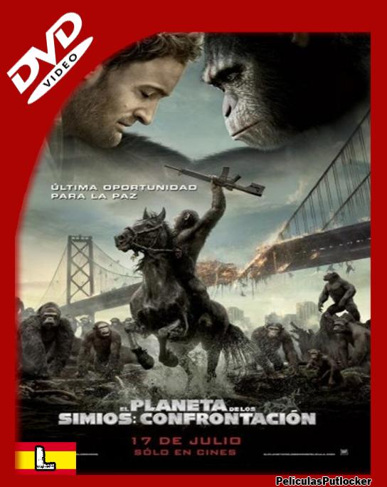 El Planeta De Los Simios: Confrontación [DVDRip][Latino][SD-MG-1F]