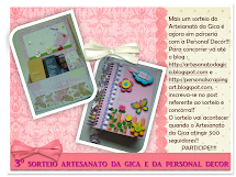 Sorteio blog da Gica