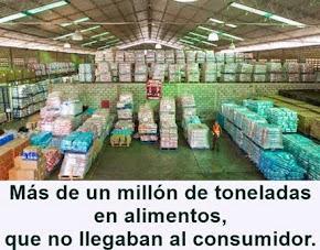 MUNDO: Gobierno Venezolano recupera más de un millón de toneladas de productos acaparados