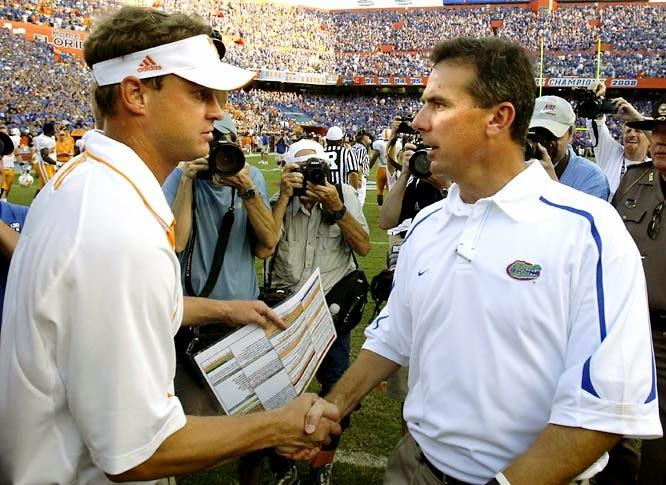 Urban Meyer on new Alabama ofensive coordinator Lane Kiffin.