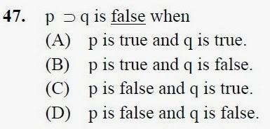 2012 December UGC NET in Philosophy, Paper III, Question 47