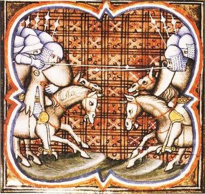 Simão de Montfort na batalha de Muret
