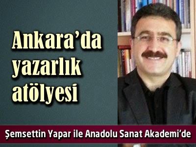 Ankara Yazarlık Atölyesi