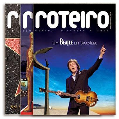 REVISTA : ROTEIRO BRASILIA