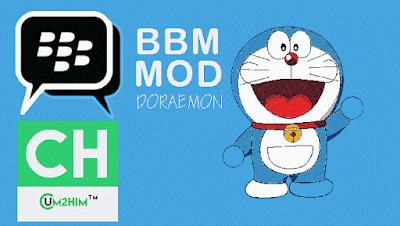 Download BBM Mod Doraemon V.2.8.0.21 APK