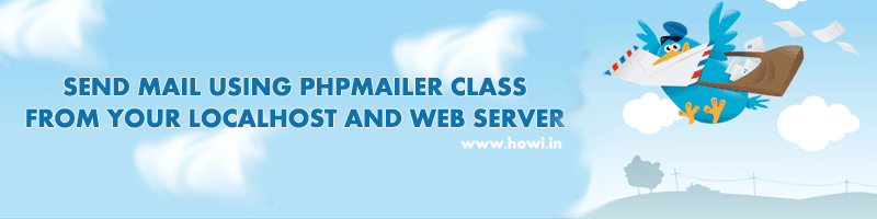 Send Mail Using PHPMailer From Localhost