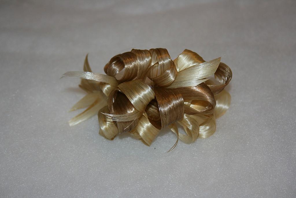 Украшения из волос своими руками мастер класс