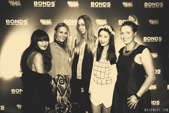 Bonds Bright Night Launch Party Sydney Mojomade Blog