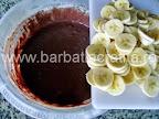 Prajitura cu banane preparare reteta