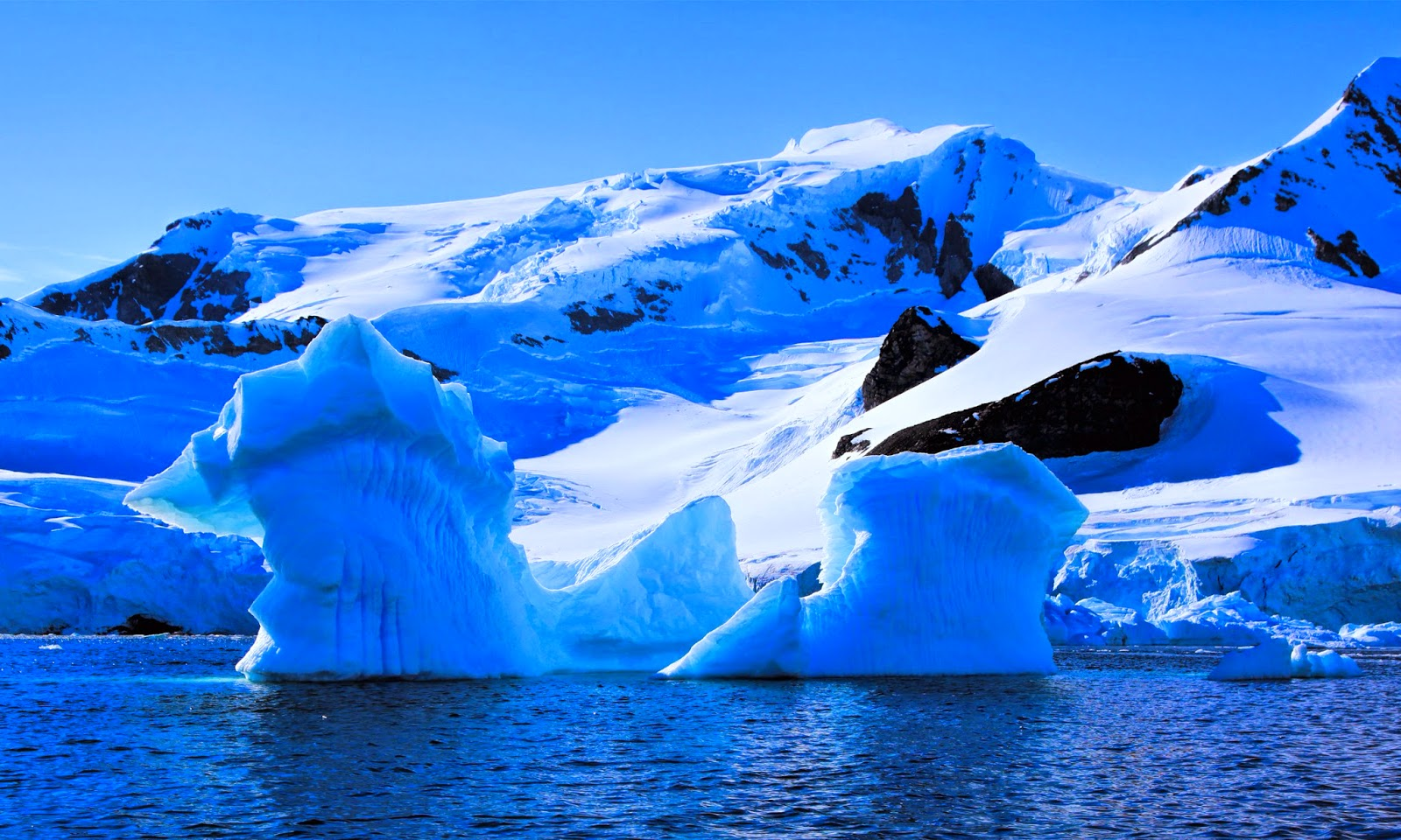 antarctica and clouds wallpaper - photo #14