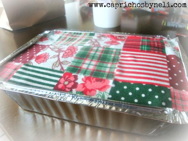 Presentes comestíveis, marmita decorada