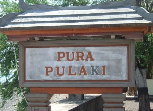 Pura Pulaki di Buleleng Bali