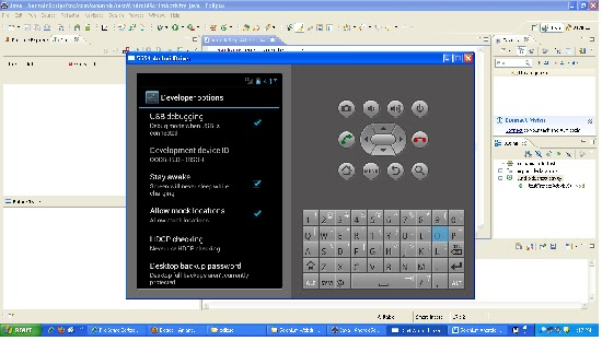 writing software for android