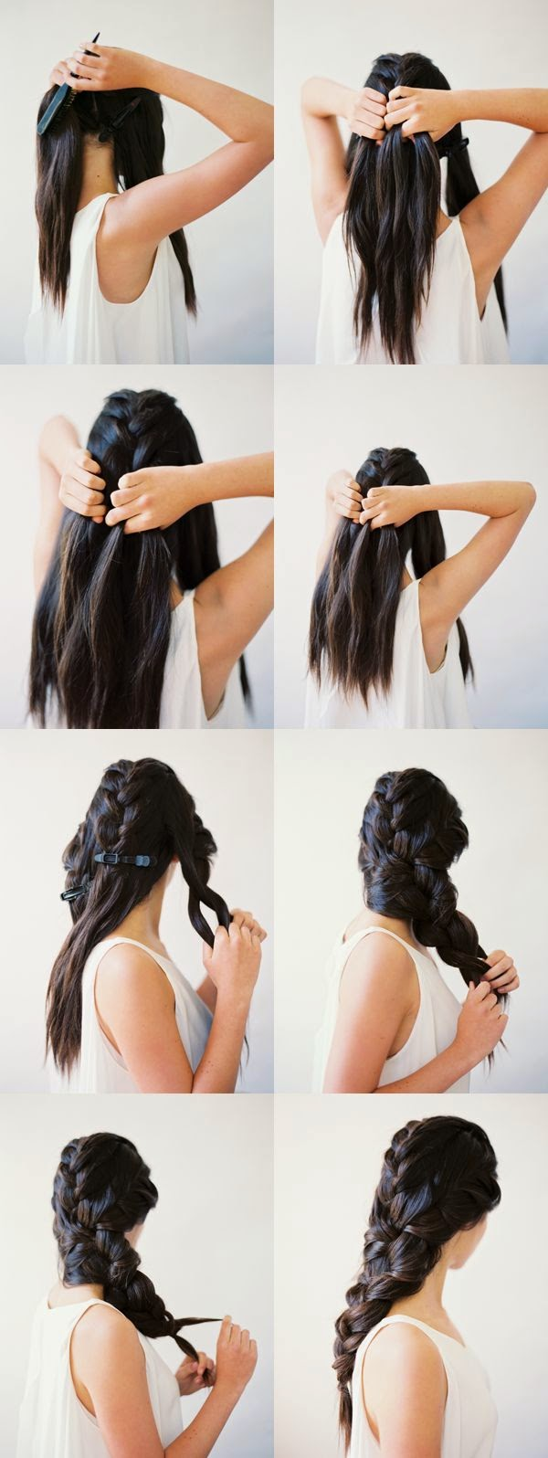 Adorable Easy Interwoven 3-Strand Braid