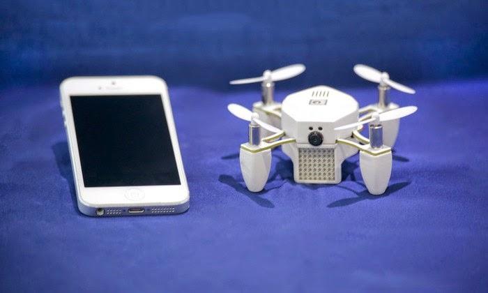 Zano, Drone Mungil Untuk Beragam Keperluan