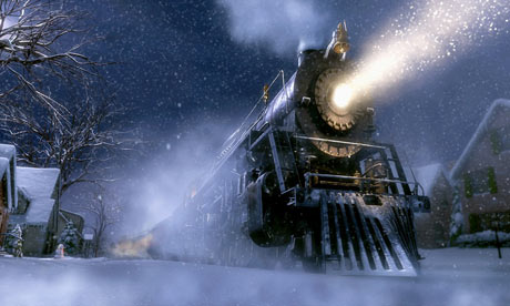 The train Polar Express 2004 animatedfilmreviews.blogspot.com