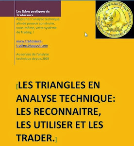 Fascicule: vidéo exclusive+exercices+correction: les triangles en analyse technique et en trading