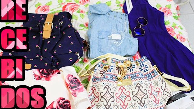 unboxing, recebidos fashion da china, parceria, Compras online, Romwe, sammydress, sheinside, lovelywholesale