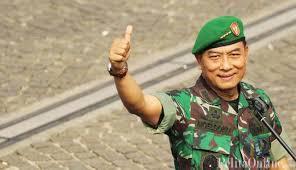 Jenderal TNI Moeldoko, kandidat tunggal Panglima TNI