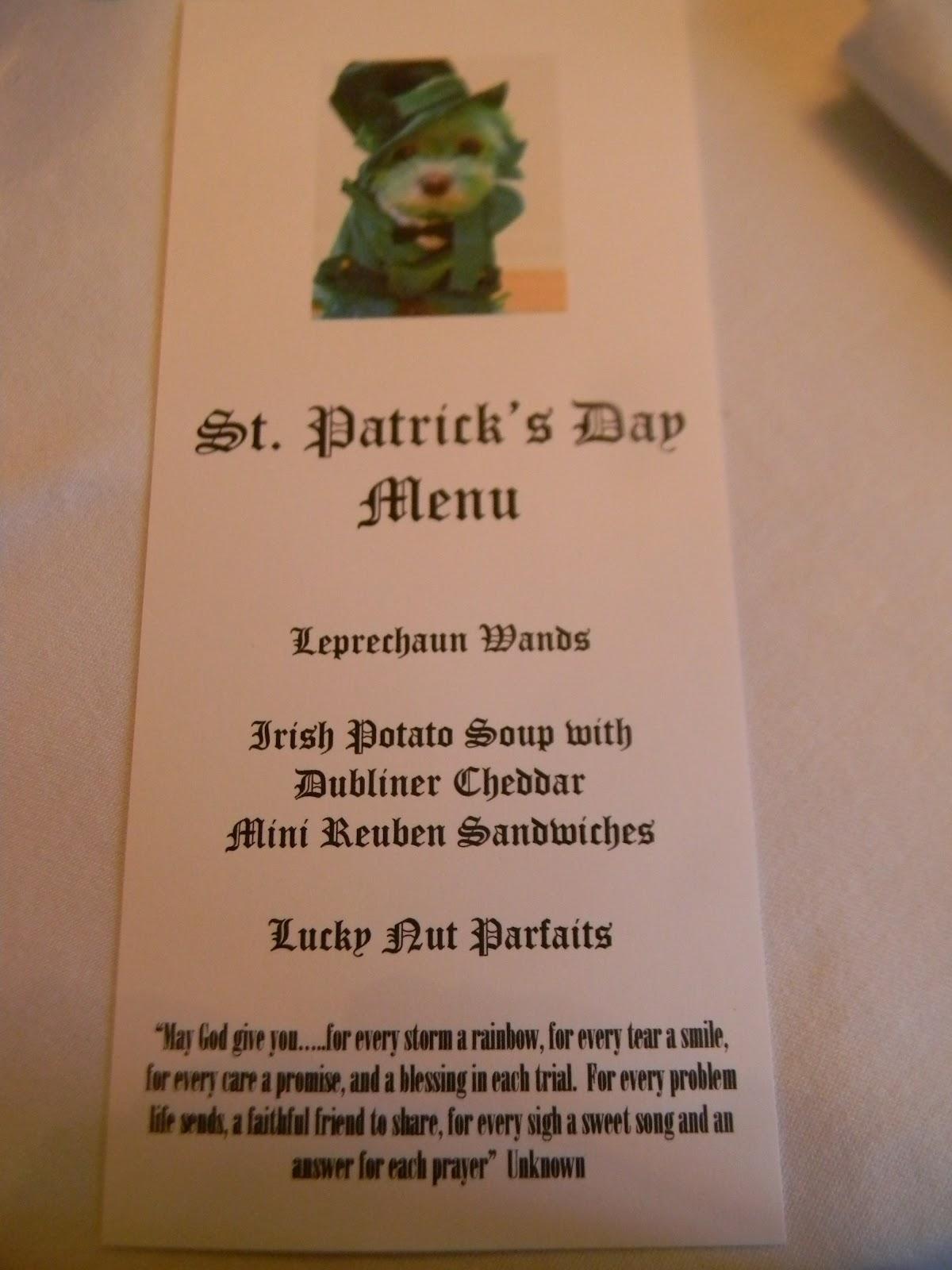 A Toile Tale: Bridge Buddies Come for St. Patrick's Luncheon