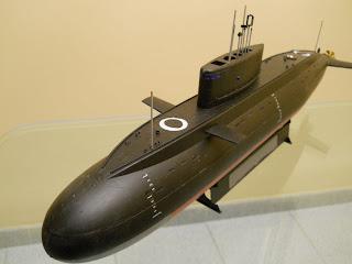 modelismo de submarinos: submarino de ataque clase kilo