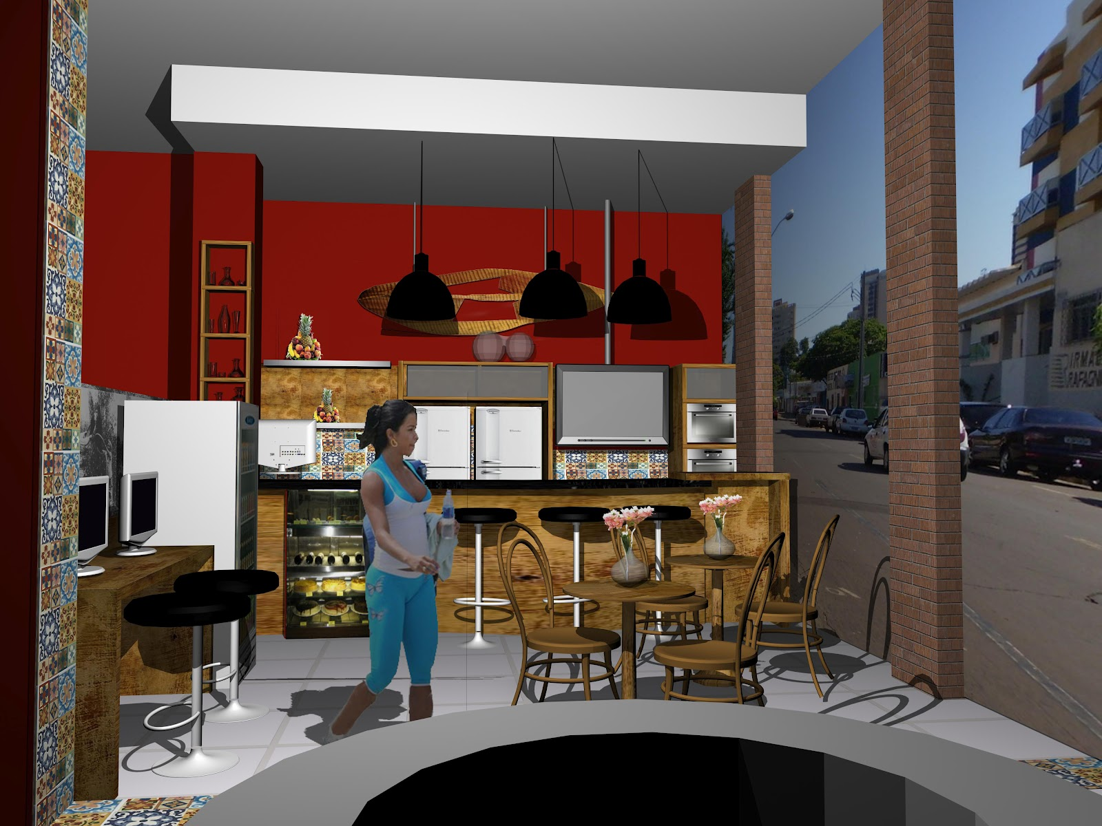 Oficina de Arquitetura: Projetos de Interiores #6E2E1F 1600 1200