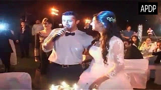 atif aslam and sara wedding walima and engagement pics