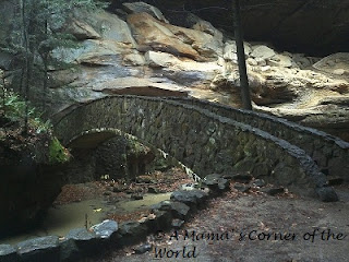 Bridge at Old Man's Cave in Ohio's Hocking Hills