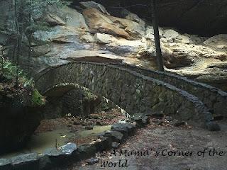 Bridge at Old Man's Cave in Ohio's Hocking Hills