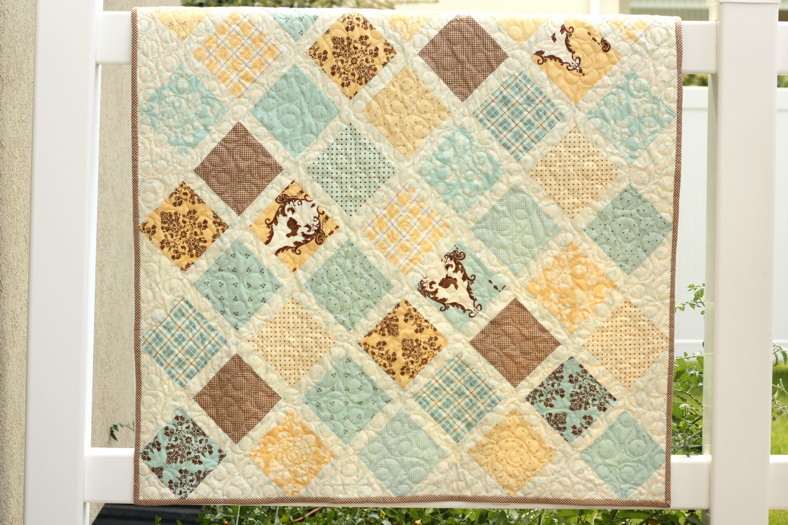 New baby quilt tutorial diary of a quilter a quilt blog