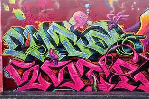 graffiti cartoon