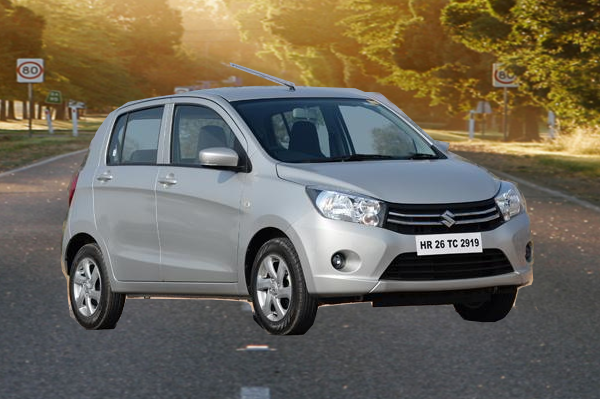 Front view of Celerio