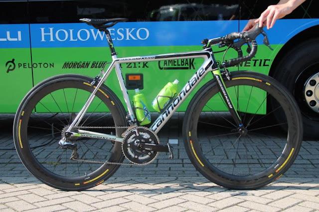 Dan Martin Y su Cannondale SuperSix Evo en el Tour de Francia