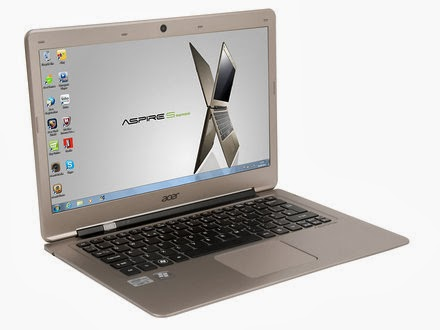 Aspire Ultrabook S3-391 Acer Aspire Slim S3-391