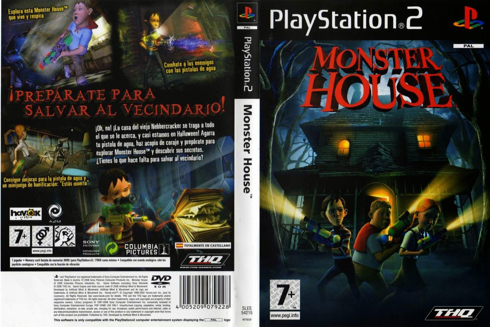 monster house ps2 free download full version mega console games. Black Bedroom Furniture Sets. Home Design Ideas