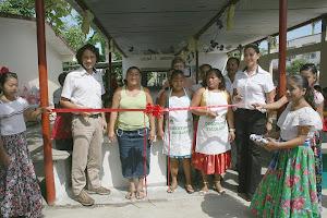 Ricostruzione scuole nelle comunità indigene