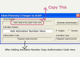 adobe photoshop cs activation keygen