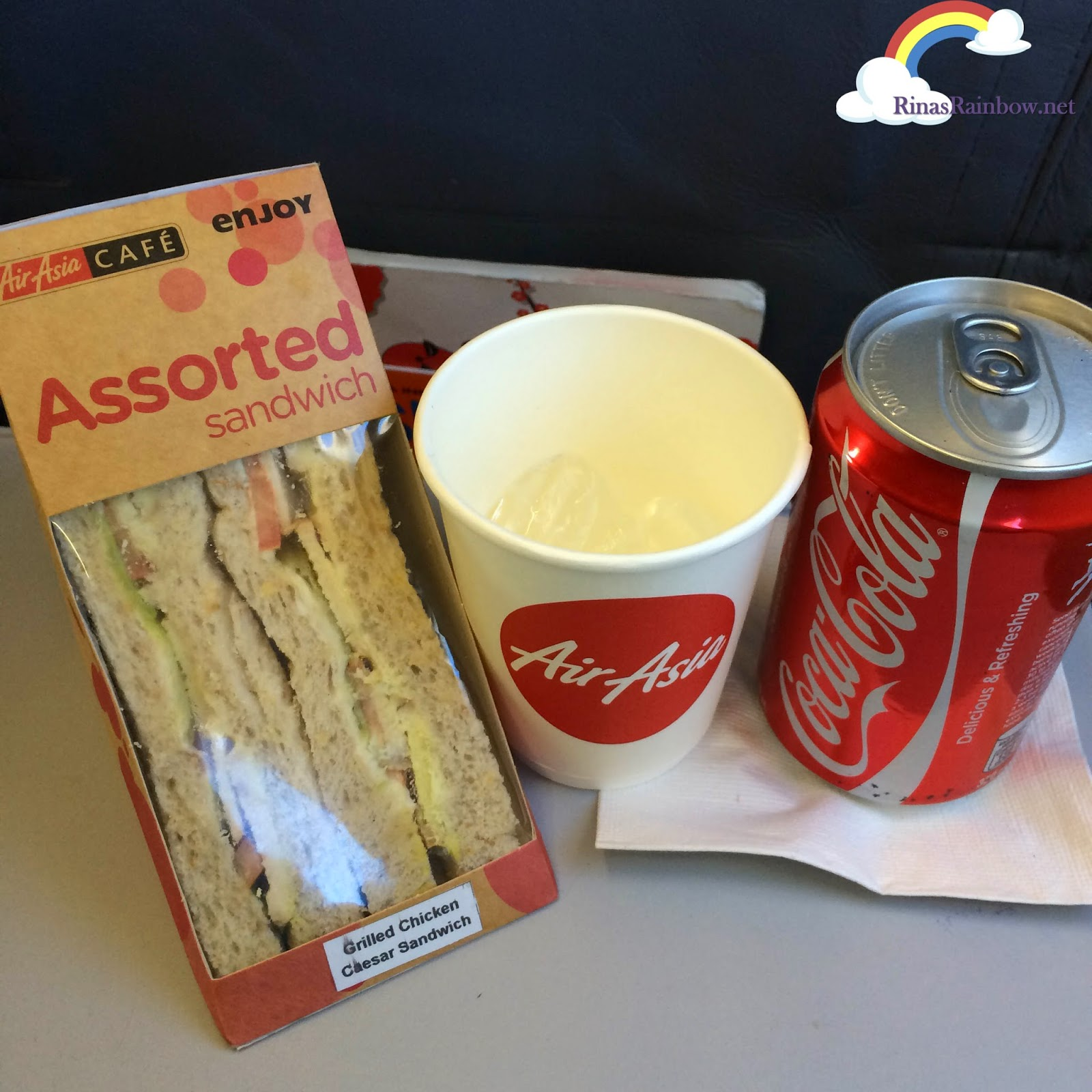 air asia cafe snacks