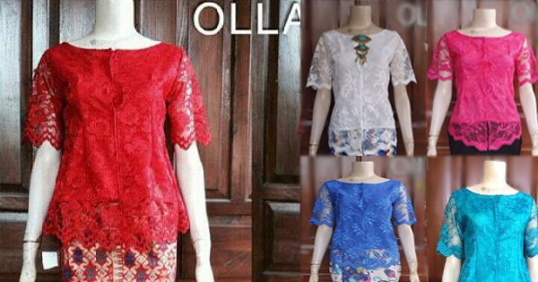 Model kebaya modern terbaru Olla Best Seller