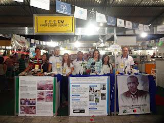 Alunos do Lordão participam da 5ª Feira de Negócios do Sebrae