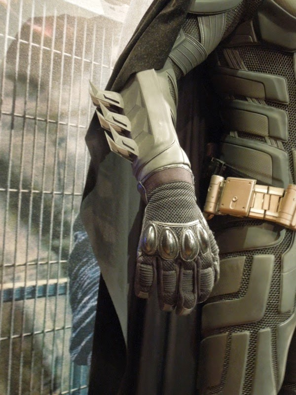 Dark Knight Batsuit glove detail