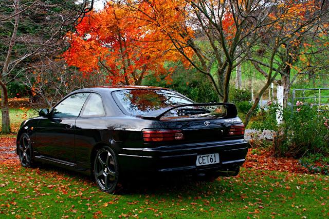 Toyota, Corolla Levin, Sprinter Trueno, AE111, japońskie, sportowe, coupe, JDM, 4A-GE, black top