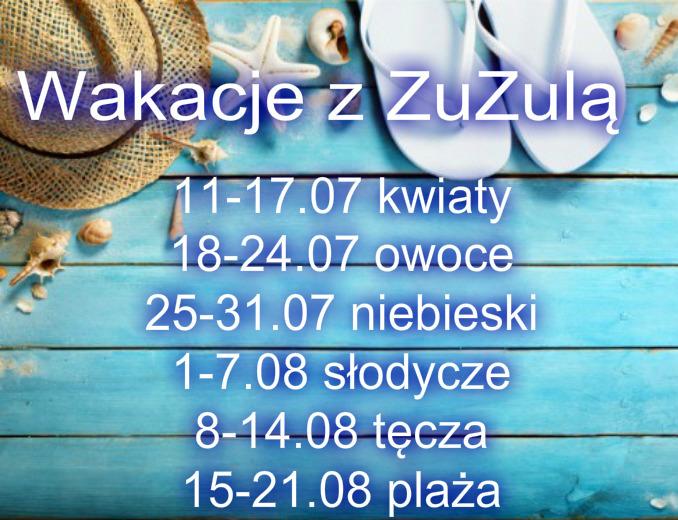 Projekt: Wakacje z ZuZulą