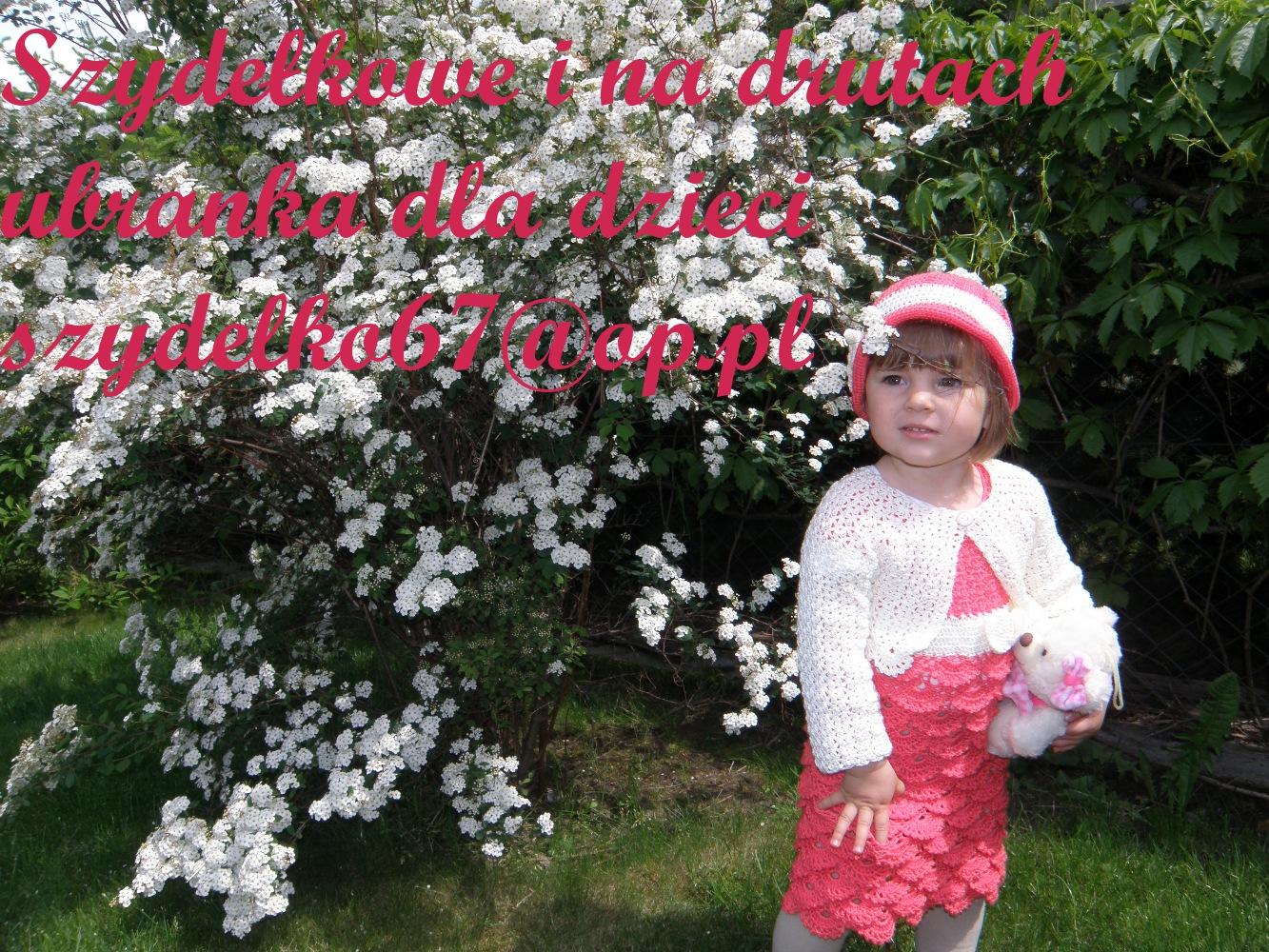 Szydełkowe i na drutach ubranka dla dzieci