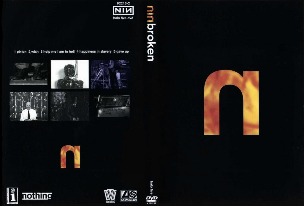DARK CIRCLE ROOM: Nine Inch Nails - Broken The Movie (ProShot DVD)