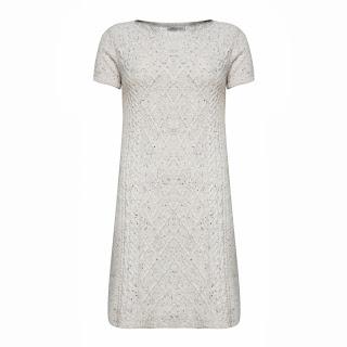 garnili beyaz elbise