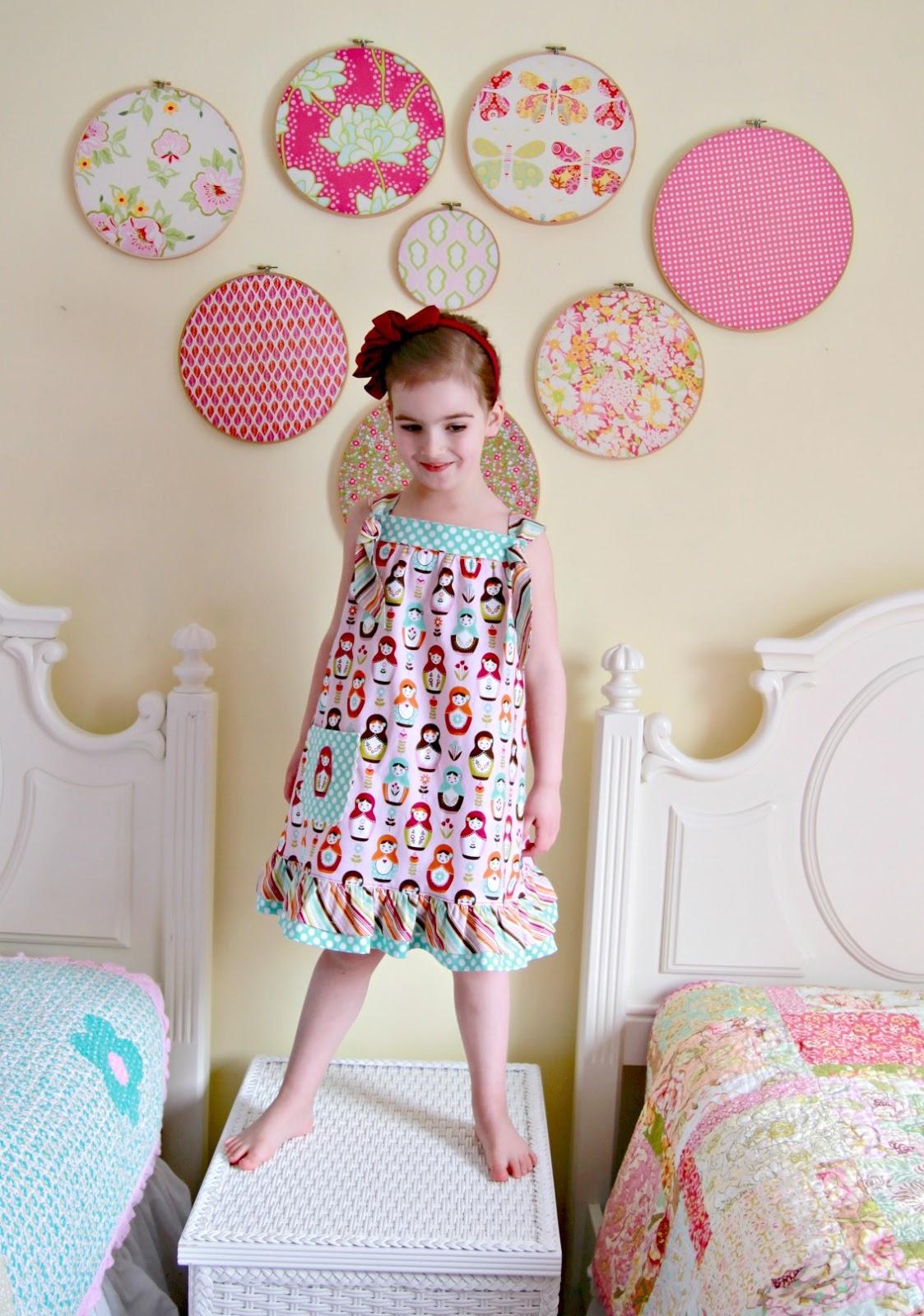 Knot Dress Tutorial & Riley Blake Designs Fat Quarter Bundle Giveaway - The Cottage Mama