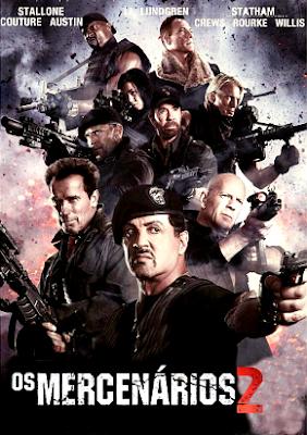 Filme Poster Os Mercenários 2 HDTS XviD Dual Audio & RMVB Dublado