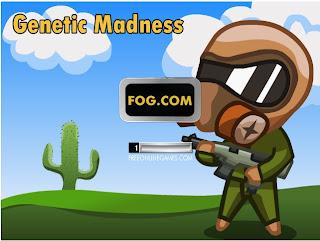 100 jogos grátis, Genetic Madness, Jogos online, Tiro, web games,