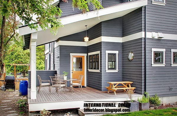 Gray color is perfect for exterior, Fashion color trends 2014